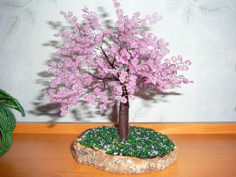 Плетение бисером деревья пошаговым